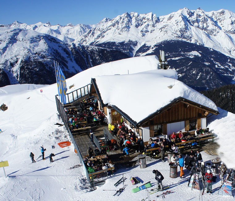 A bar with a view |Bergbahnen See