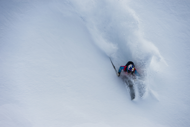 Getting deep in Engelberg, Switzerland | Mattias Fredriksson / Red Bull Content Pool