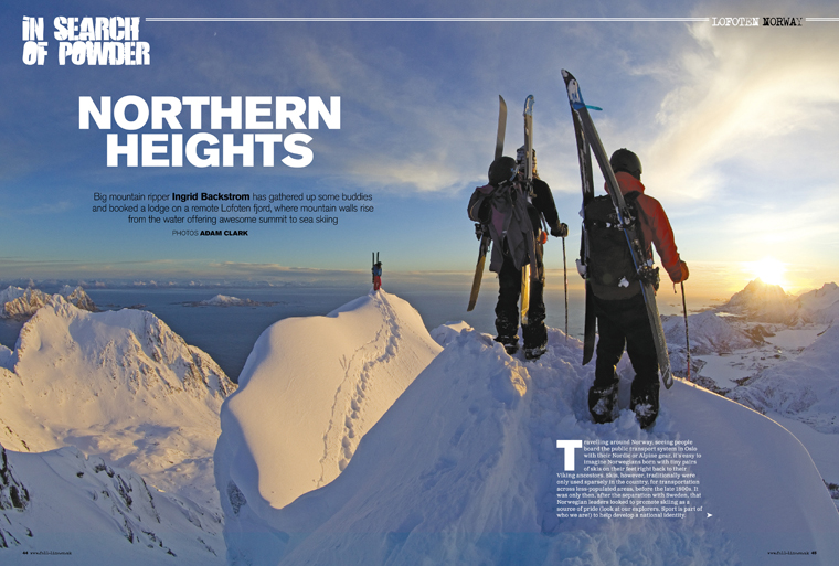 The backcountry issue