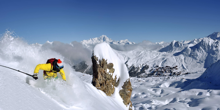 La Plagne: europe's best off-piste