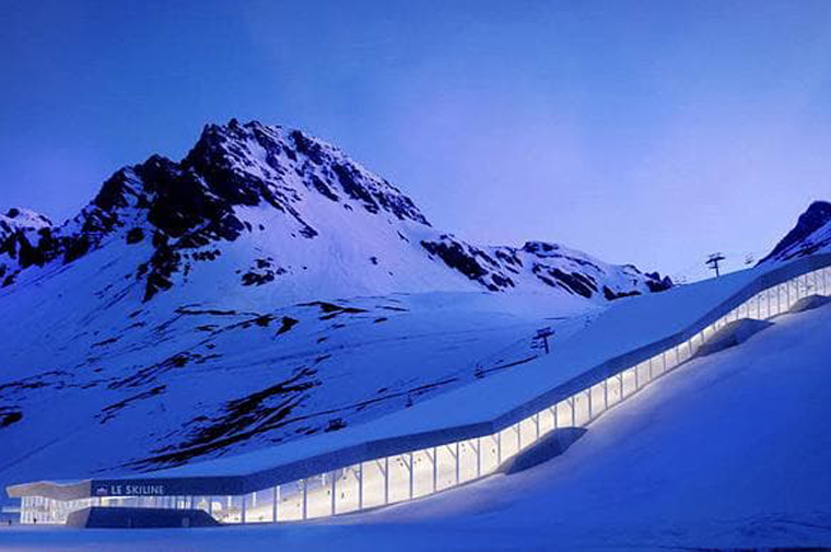 Why Tignes Is Planning To Build An Artificial Indoor Ski