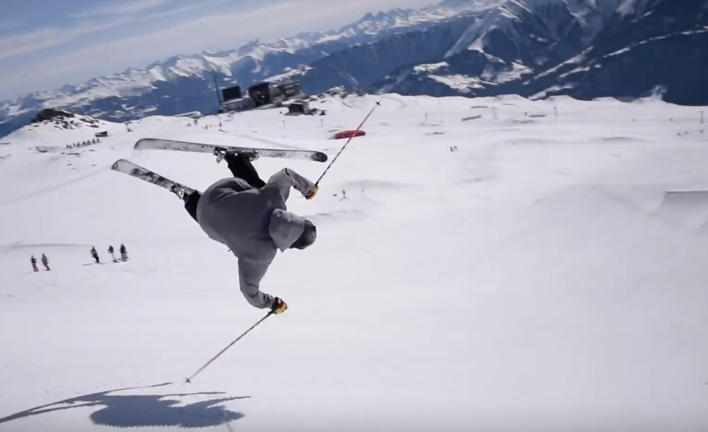 How to Ski Corbets Couloir - Fall-Line Skiing