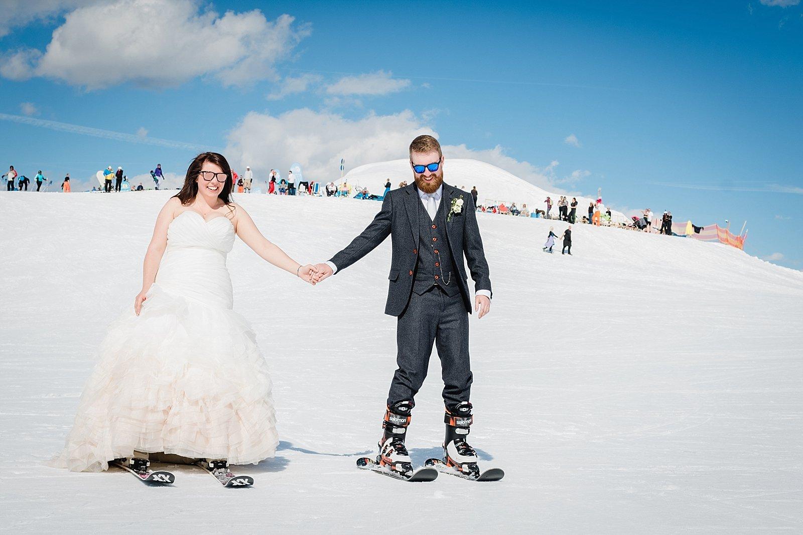 Wild Connections Photography ski wedding 3