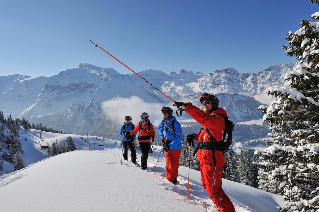 Deciding where to ski next in Engelberg