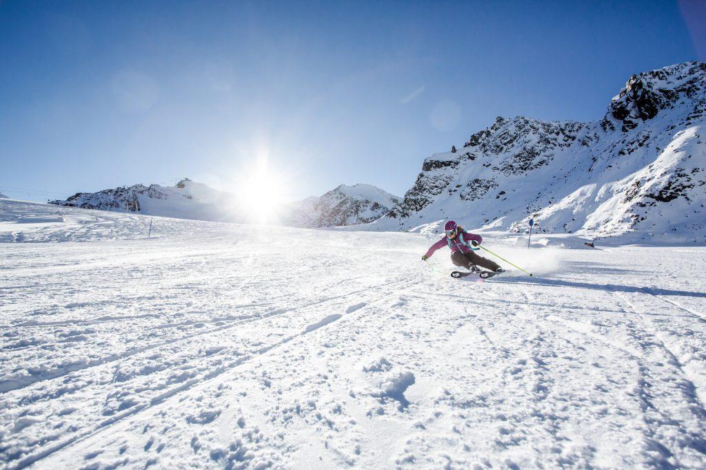 Nordica Santa Ana 93 ski in action