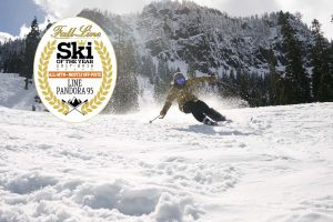 The Line Pandora 95 ski wins Fall-Line Skiing magazine's All Mountain: Best for Mostly Offpiste award