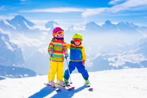 Skiing with a toddler can be delightful fun