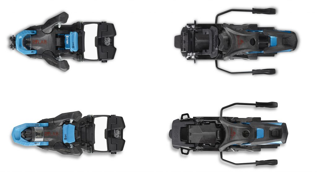 Comparison of touring and descent modes of Salomon's Shift binding