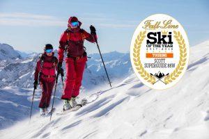 Scott Superguide 88W wins Fall-Line Skiing magazine's 2018 best women's touring ski award