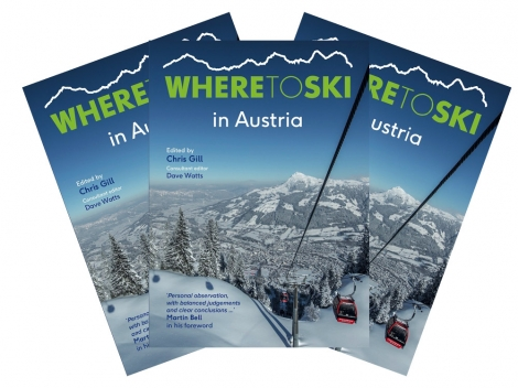 New WTSS book titled 'Where to Ski in Austria'