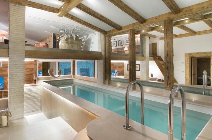 coolest chalet pools