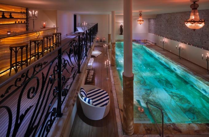luxury alpine pools