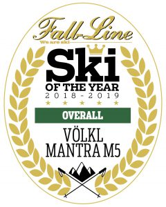 Fall-Line ski of the year VÖlkl Mantra M5