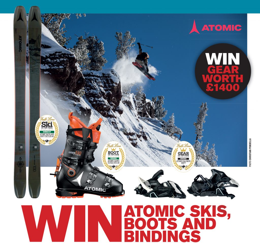 Win Atomic Skis