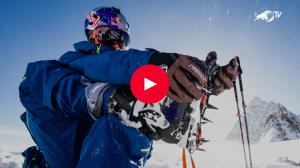steep skiiing giant slalom