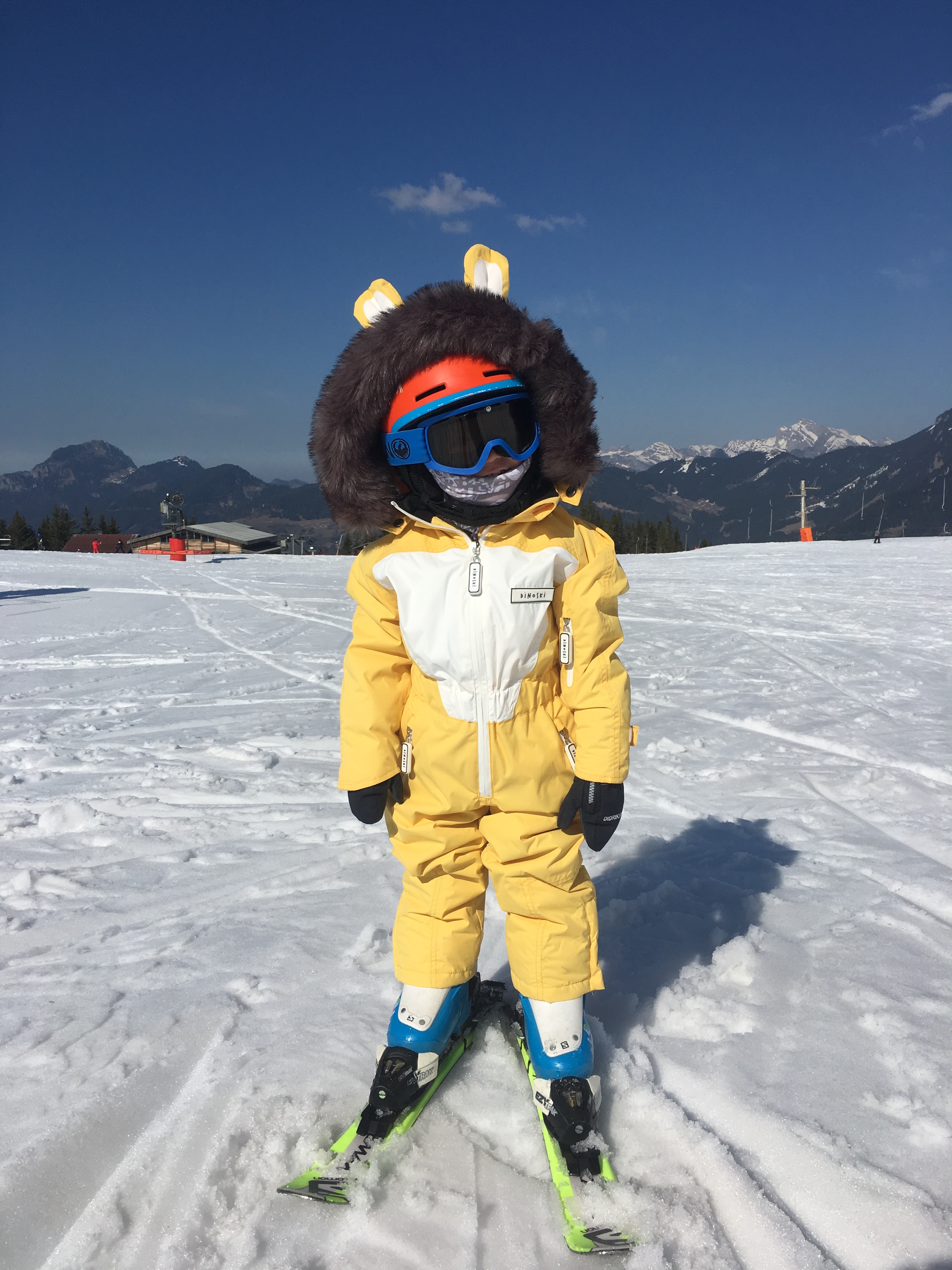 b563e40b AFTER ALL, WHY DRESS YOUR KIDS IN BORING-LOOKING SKI GEAR WHEN THEY CAN WEAR  DISTINCTIVE PASTEL COLOURS ADORNED WITH A HORNS, OR EARS, OR A TAIL?!